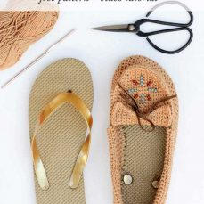How To Crochet Moccasins