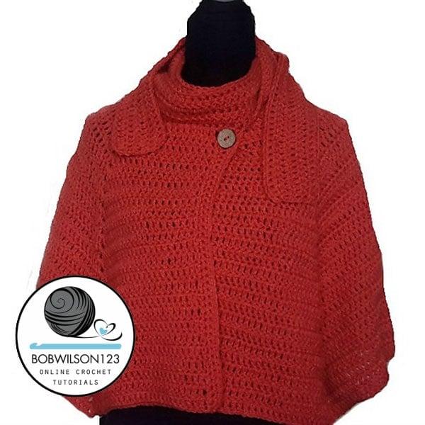 Crochet Cape Tutorial Free Crochet Tutorials