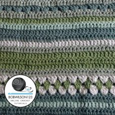 Crochet Country Fields Lapghan / Blanket Tutorial