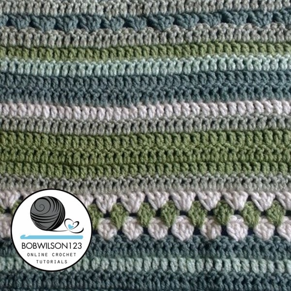 Crochet Country Fields Lapghan Blanket Tutorial Free Crochet