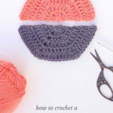 How To Crochet A Half Hexagon