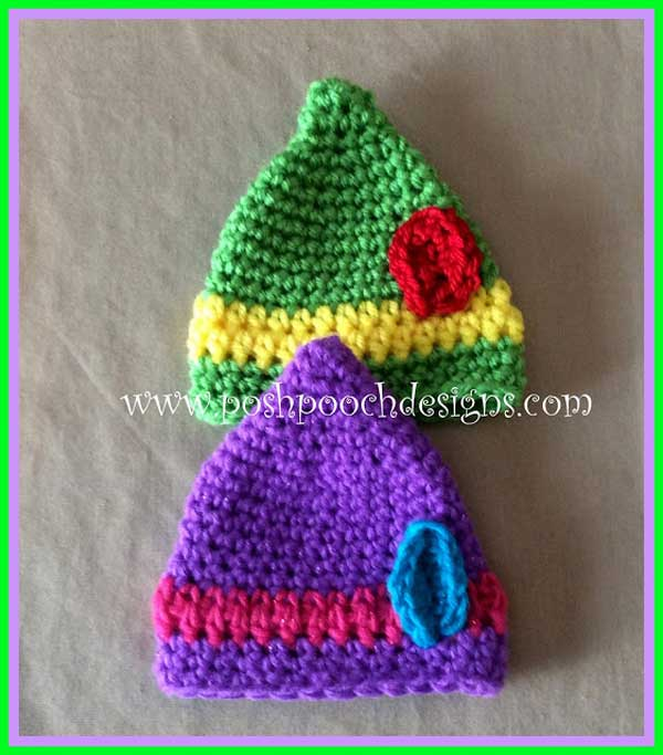 Mini Elf Hat Video Tutorial And Free Crochet Pattern Free Crochet