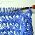 Broomstick Lace Baby Blanket Photo Tutorial