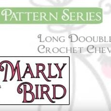 How to Crochet Long Double Crochet Chevron Stitch Pattern