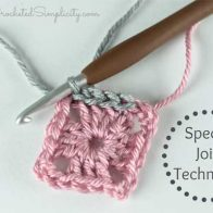 Crochet Tutorial – Special Join for Slip Stitch Rounds