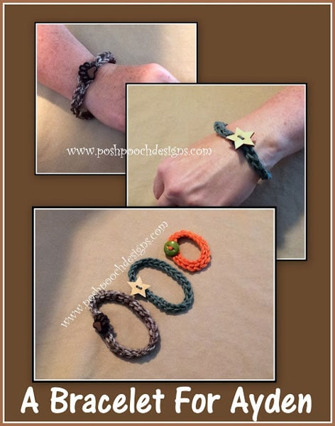 This video tutorial will help you to crochet this Bracelet For Ayden, a Beginner Crochet Pattern.