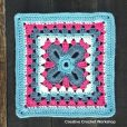 Fancy Clover Granny Square Tutorial