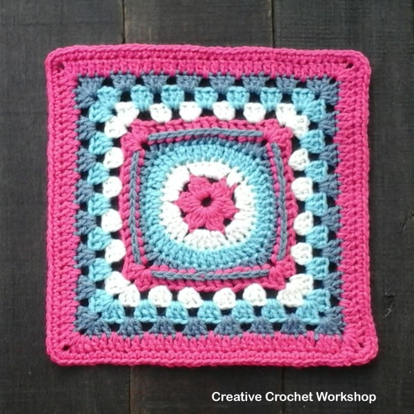 Neat joining for crochet circles | crafternoon treats.