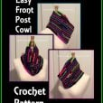 Easy Front Post Cowl Video Tutorial and Free Pattern