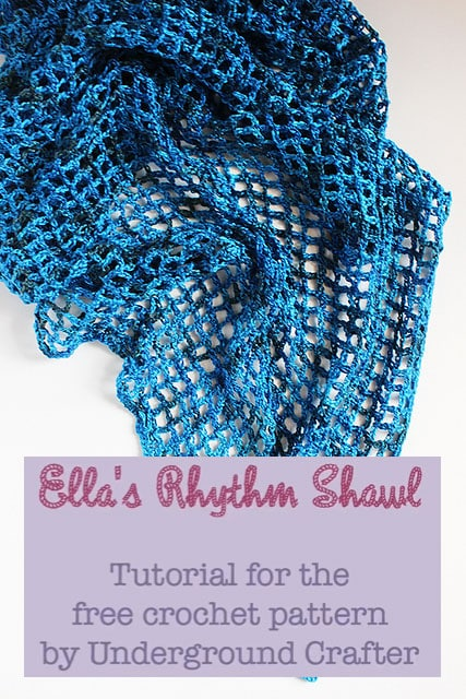 ella u0026 39 s rhythm shawl tutorial  u2022 free crochet tutorials