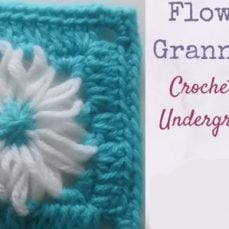Flower Loom Granny Square Tutorial
