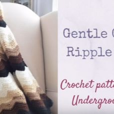 Gentle Gradient Ripple Blanket Tutorial