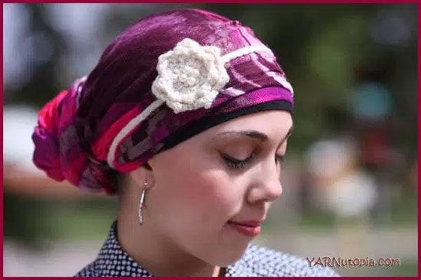Crochet Tutorial Double Flower Headband Free Crochet
