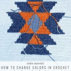 HOW TO CHANGE COLORS IN CROCHET WITHOUT CUTTING YARN