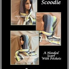 Scoodie - Hooded Scarf With Pockets Free Crochet Pattern