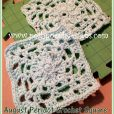 August Peridot Crochet Square Crochet Pattern