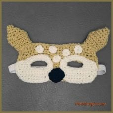 Crochet Tutorial: Fawn Mask