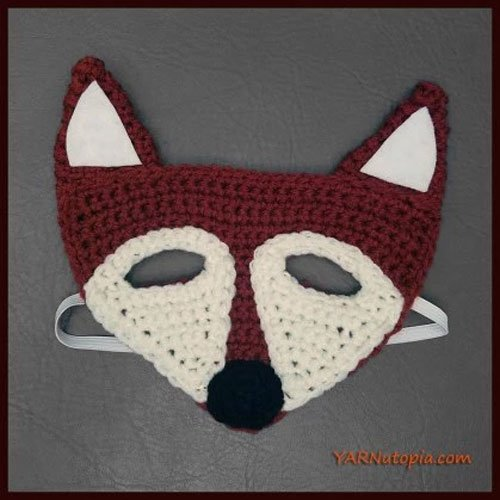 Crochet Tutorial: Fox Mask