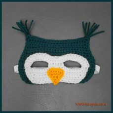 Crochet Tutorial: Owl Mask