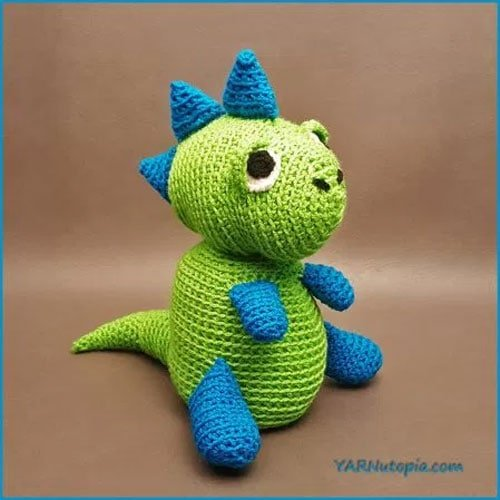 Crochet Tutorial Spike The T Rex Dinosaur Amigurumi Free Crochet