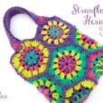 Strawflower Hexagon Tote