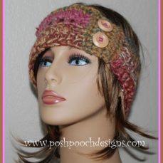 The Ladder Headband Crochet Pattern