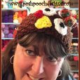 Turkey Gobble Headband/ Headwarmer Crochet Pattern