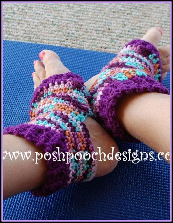 Yoga Sock Crochet Pattern Free Crochet Tutorials