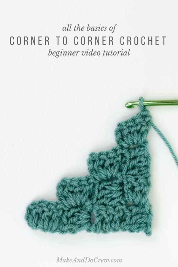 Beginner Corner to Corner Crochet
