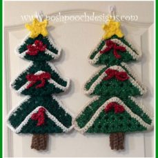 Chunky Granny Square Christmas Tree Crochet Pattern
