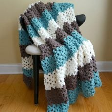 Family Room Throw Pattern and Tutorial