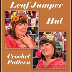 Leaf Jumper Hat Crochet Pattern