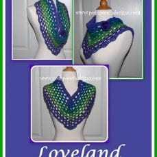 Loveland Triangle Cowl Crochet Pattern