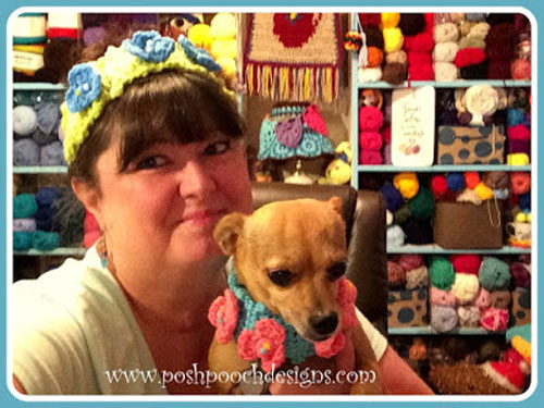 Poppy Dog Collar Headband Crochet Pattern Free Crochet Tutorials