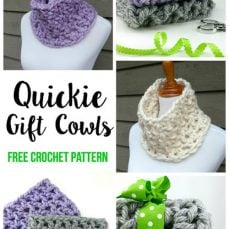 Quickie Gift Cowl Pattern