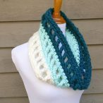 Wintergreen Ombre Cowl Pattern.
