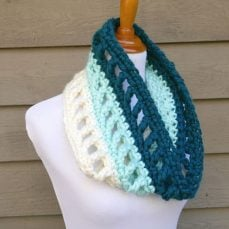 Wintergreen Ombre Cowl Pattern