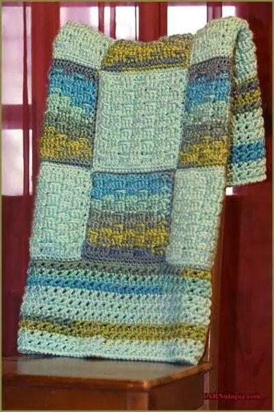 Woven Dreams Baby Blanket Pattern