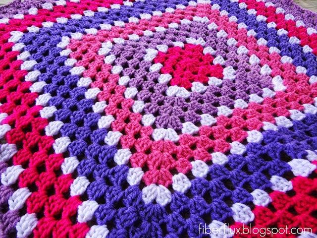 Berry Season Blanket Tutorial