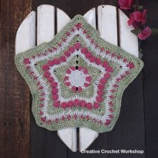 Wish Star Doily Patter and Tutorial