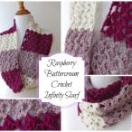 Raspberry Buttercream Infinity Scarf Pattern