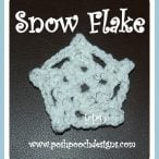 How to Stiffen a Crochet Snowflake