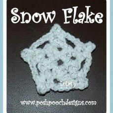 How to Stiffen a Crochet Snowflake