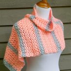 Tangerine Waves Wrap