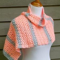 Tangerine Waves Wrap