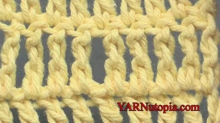 Treble Crochet Stitch Tutorial
